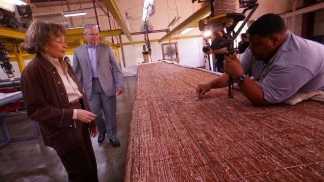 F brica de alfombras fortalece operaciones en vega baja empresarios magazine - Fabricantes de alfombras ...
