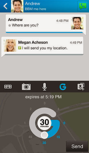 BBM v2.0.1.36 for iPhone/iPad