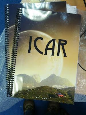 Icar proof reader test print