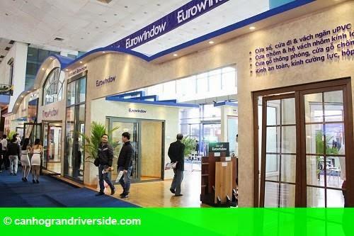Hình 1: Eurowindow tiếp tục mang sản phẩm mới đến Vietbuild Đà Nẵng 2015