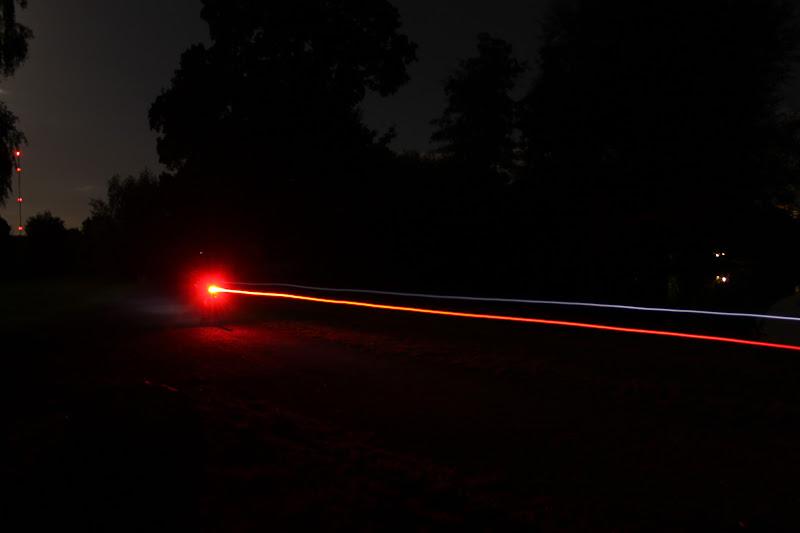 Das Bremslicht in Aktion