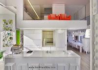 Khám phá căn hộ tươi sáng với cầu trượt thú vị cho trẻ nhỏ : Nội thấ căn hộ
