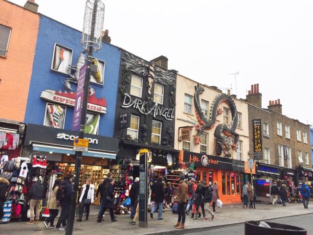 Marché de camden Londres