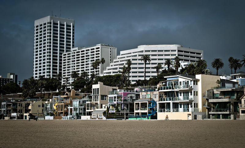 Santa Monica, tym razem zimą..