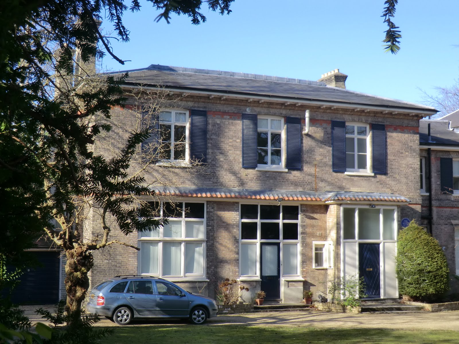 CIMG1556 John Logie Baird's house, Crescent Wood Road
