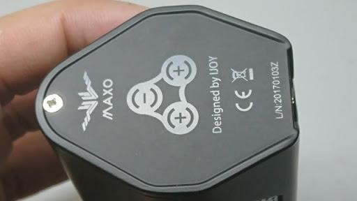 DSC 1479 thumb%25255B3%25255D - 【MOD】「iJOY MAXO ZENITH 300W BOX MOD」レビュー。ライトニングノブで2.7-6.2Vを切り替えられるVV MOD!!【3本バッテリー/VAPE】