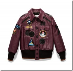 20238_Leather Jacket with Patches