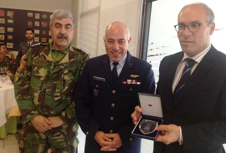 Adidos militares de embaixadas estrangeiras visitam Lamego