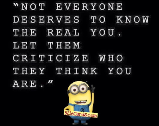 Minion Quote About Life And People
