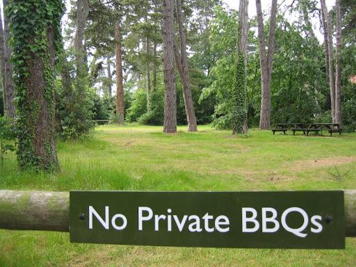 no private bbqs