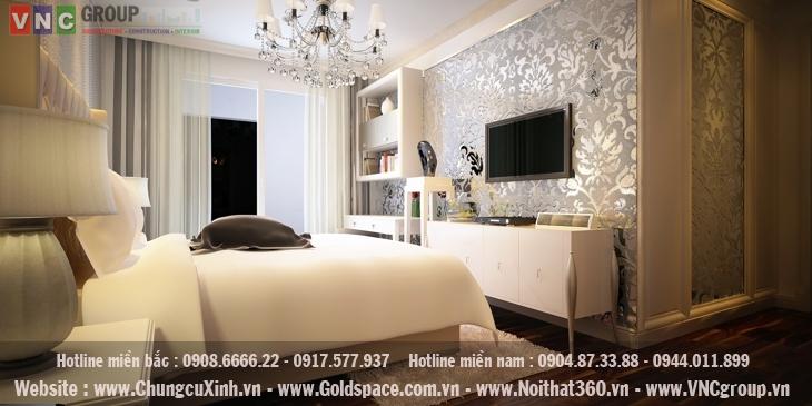 Mẫu thiết kế nội thất chung cư văn khê hiện đại