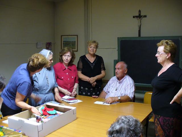 don Bruno Zamberla incontra il gruppo missionario Padre Sergio Sorgon