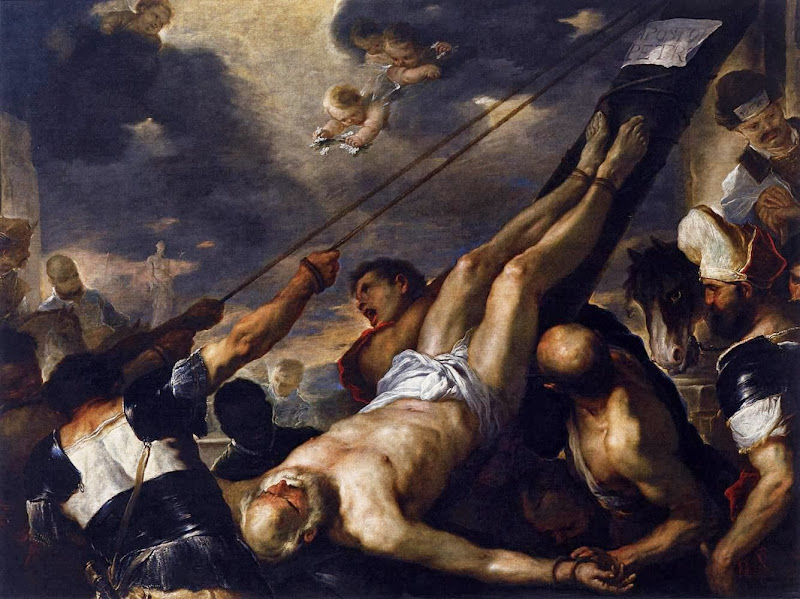 Luca Giordano - Crucifixion of St Peter