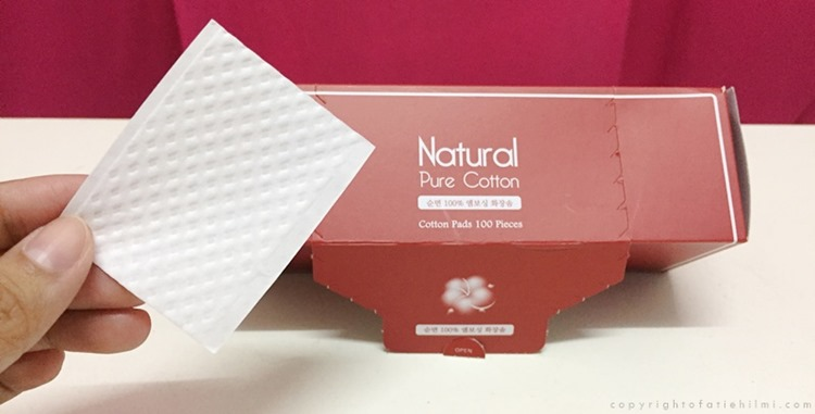 Face Cotton Pad From Korea