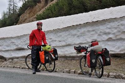 Schnee am Vršič Pass