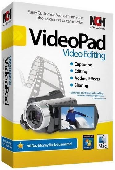 NCH VideoPad Pro 10.78  com Crack Baixar Grátis