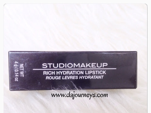 [Review] STUDIOMAKEUP Rich Hydration Lipstick #SRL02 Royal Red