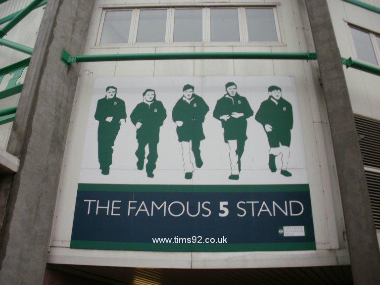Famous Five Stand  на Истер Роуд