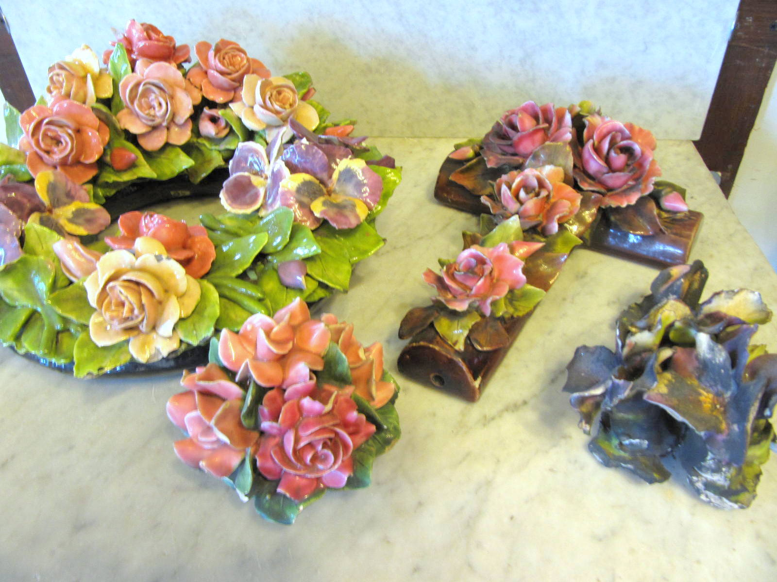 Ohmega Salvage: Favorite Item of the Week: French Porcelain Flowers