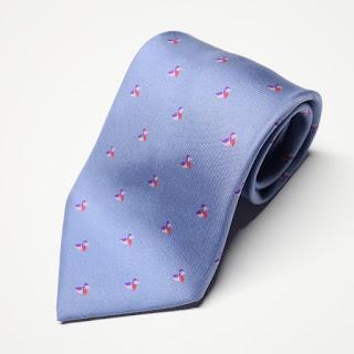 Hermès Periwinkle Necktie