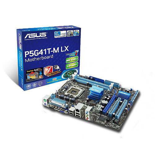 Review dan Spesifikasi Motherboard ASUS P5G41T-M LX LGA 775 DDR3