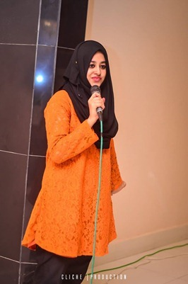Maryam Fatima at The Mentor Club Conference