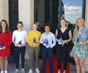 KAA Gent Ladies valt tweemaal in de prijzen bij Sparkle verkiezingen