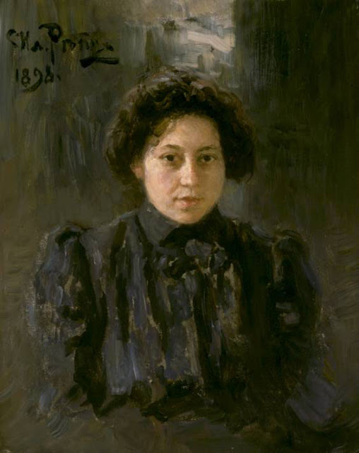Ilia Repin - Portrait of the artist's daughter Nadezhda