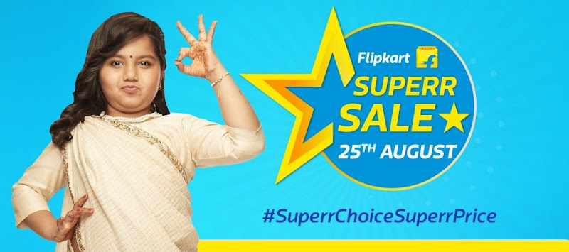 (Expired) Flipkart Superr Sale - Get Huge Discounts + 10% Extra Discount on HDFC Cards