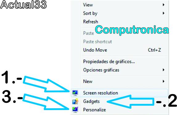 Aprende a personalizar tu escritorio con sistema operativo Windows 7