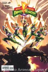 Actualización 01/02/2017: ¡A metamorfosearse o Mórfosis, amigos! Traemos el numero 9 de los MMPR por The Guard y JMartin para The Lax Project y la Mansion del CRG. Mientras que Tommy y Jason se enfrentan contra el Dragón Negro de la Luna, ¡el resto de los Rangers buscan un medio para poner en marcha sus poderes y salvar sus Zords de su influencia! Con la vida de Billy en la línea, ¿podrán los rangers superar su mayor reto o encontraran la derrota en las garras de este enemigo familiar?