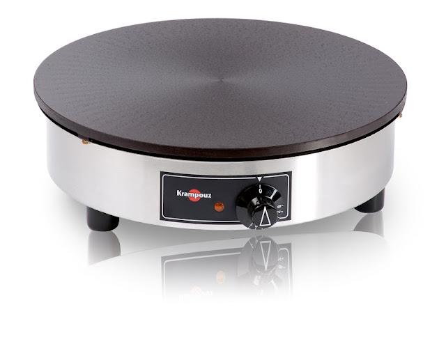 CEBIV4 Crepiera elettrica professionale Standard in ghisa 40cm