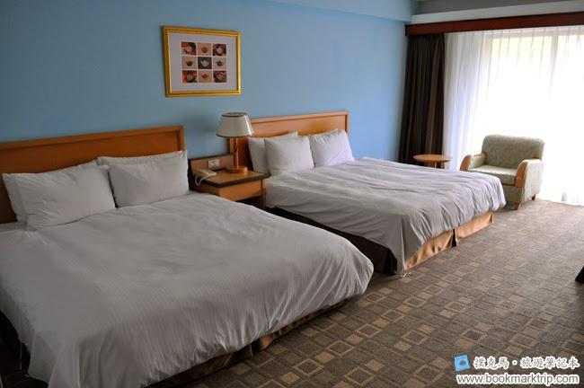 墾丁福華渡假飯店雙人床