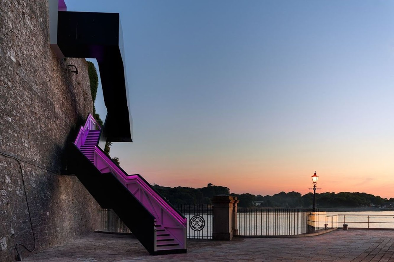 Plymouth, Regno Unito: Coast Path Staircase Wins Small Projects 2014 Sustainability Award