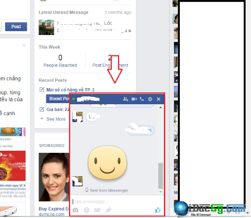 Inbox facebook và viết tắt IB fb có nghĩa là gì? + Hình 6