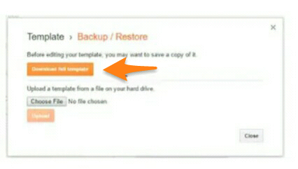 How To Completely Backup Your Blogger Blog. 1