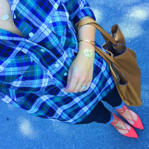 lace up flats, how to wear a plaid shirt, fall fashion