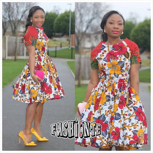 15+ Creative Ankara Short Gown Style | Fashionte