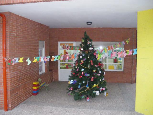 El árbol de Navidad de infantil