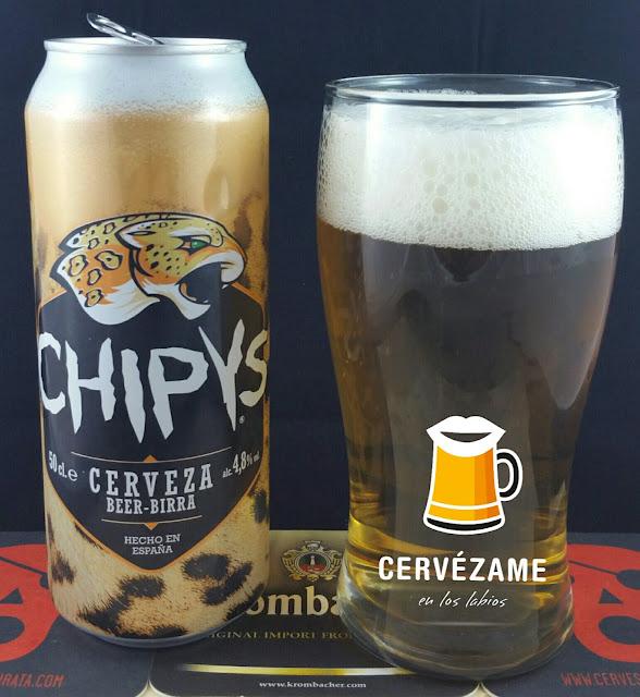 cerveza Chipys cervezame en los labios