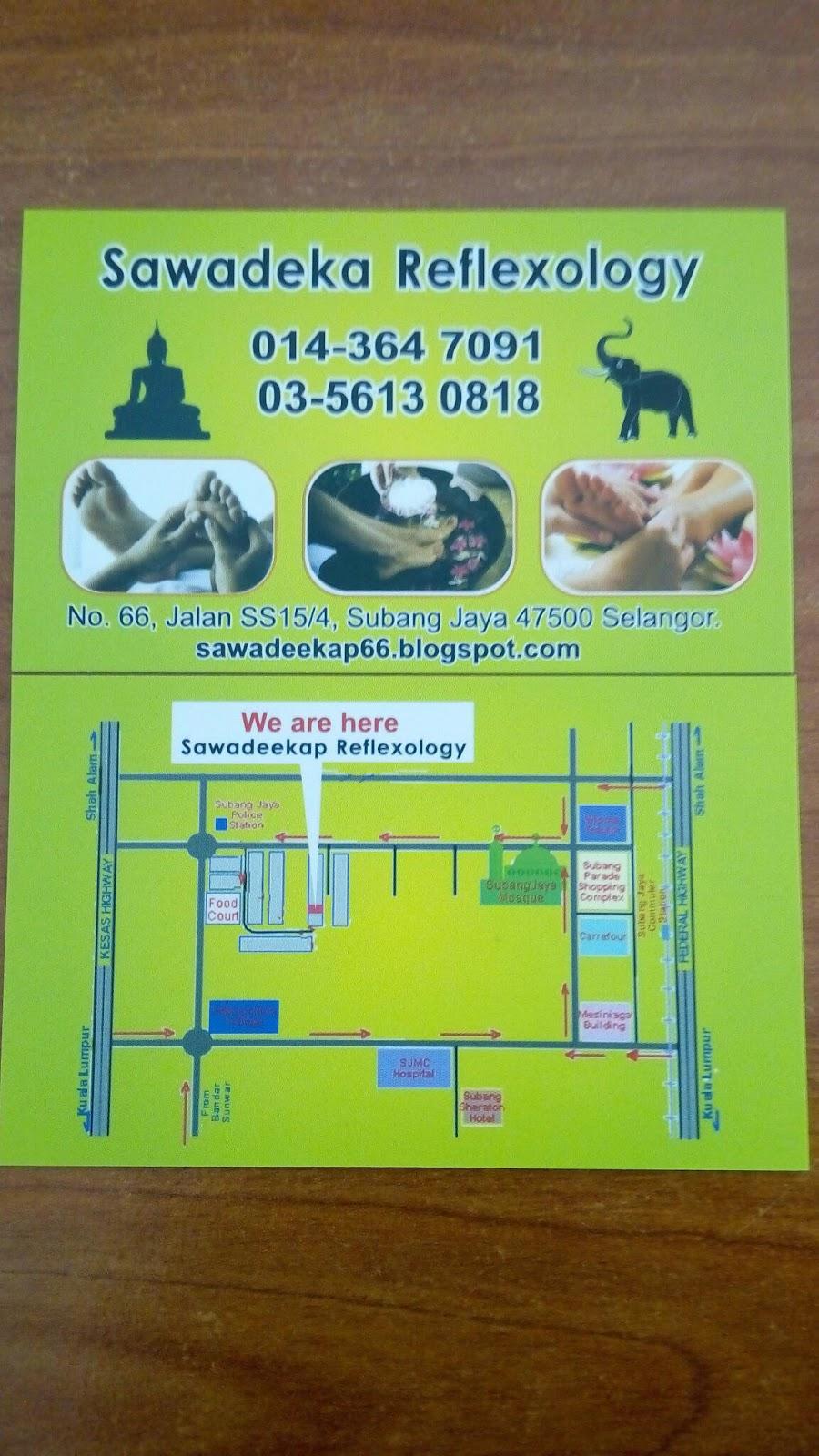 Sawadeka Thai foot and body massage   sawadeekap66 com