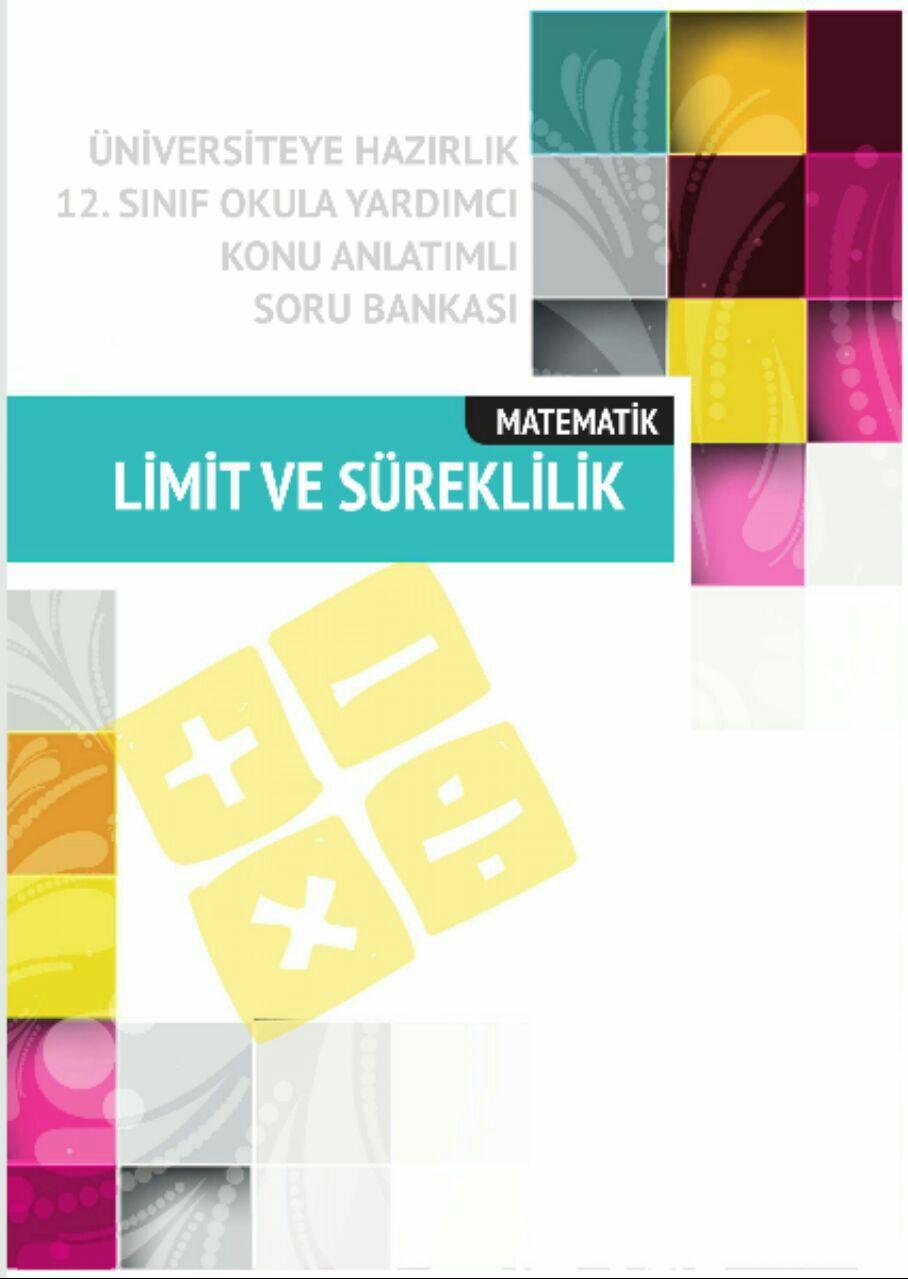 Çap Yayınları Limit Ve Süreklilik Konu Anlatımlı Soru Bankası