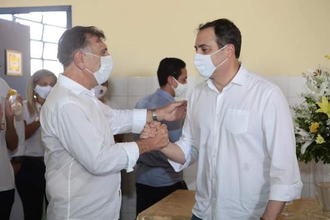 Em Afogados, Governador Paulo Câmara inaugurou ampliação de escola, reforma de terminal rodoviário e anunciou mais 10 leitos de UTI para o Hospital Regional