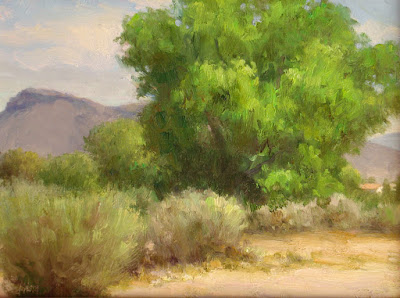 """Cottonwoods and Sage"""