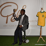 OIC - ENTSIMAGES.COM - Pele at the  Pele: The Collection - press viewPele, football legend and three time World Cup Champion offers a collection of memorabilia, awards, personal property and iconic items from his entire career. 1st June 2016 Photo Mobis Photos/OIC 0203 174 1069
