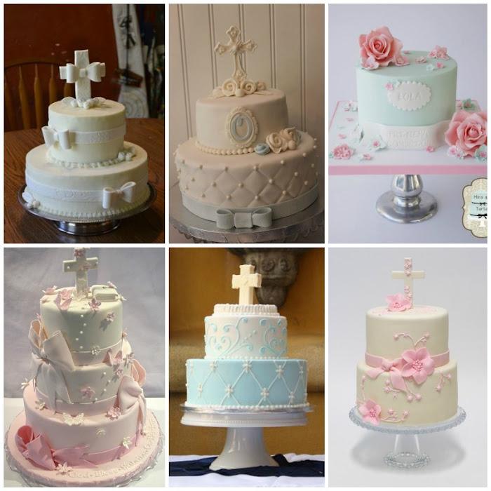 tortas de comunion unisex
