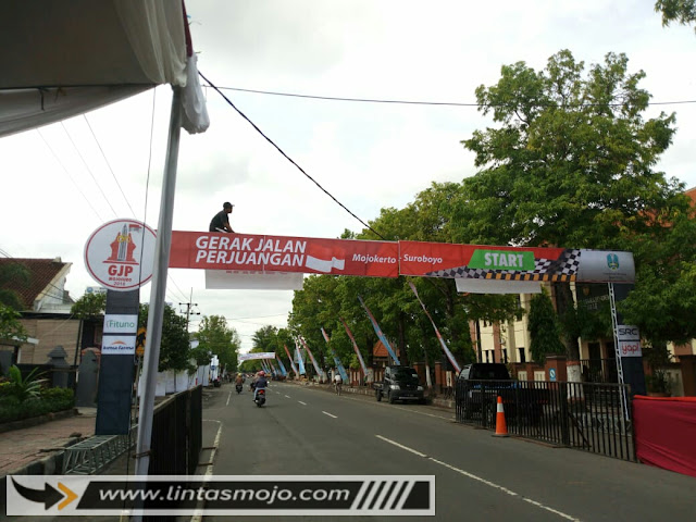 Persiapan Gerak Jalan Perjuangan Mojokerto-Surabaya 2018