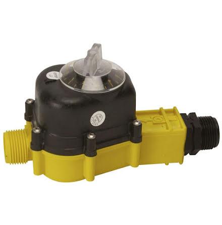 Vattenmätare / Vattentimer 0 - 10.000 liter *