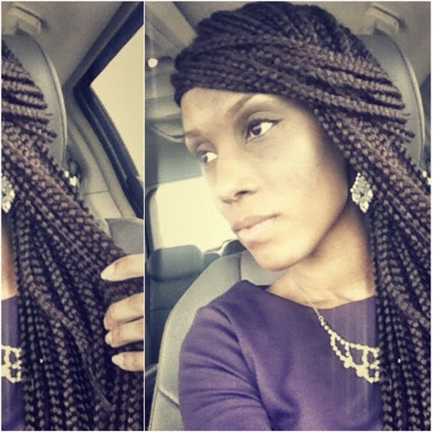 waist length, box braids, long, rope twists, crochet, doy, how to