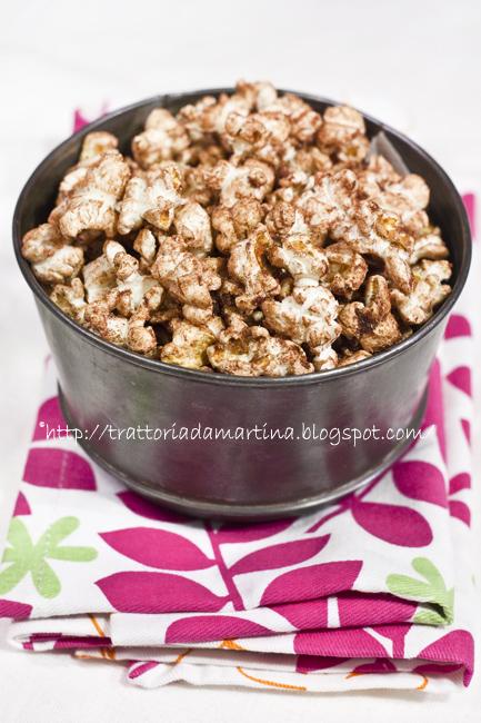 Popcorn cioccogoduriosi al cacao